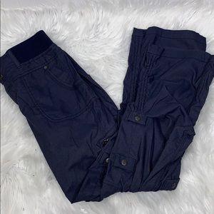 Athleta Blue Hiking Pant size 6 P